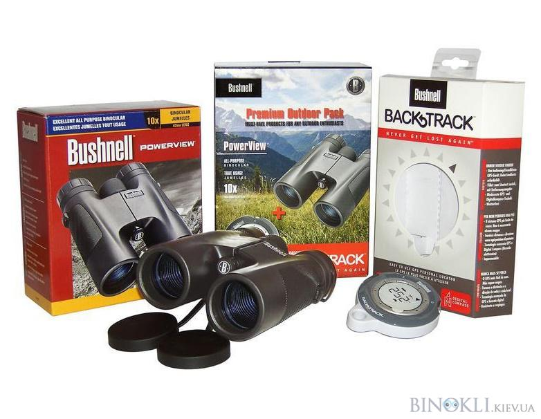 Бинокль Bushnell Premium 10x42+backtrack
